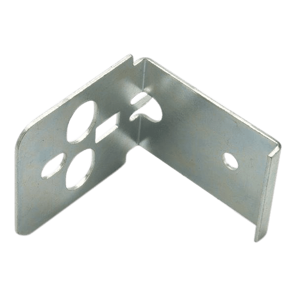 Punch press metal stampings.