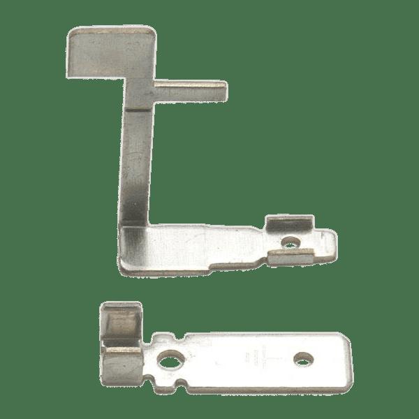 Custom metal stamping terminals.