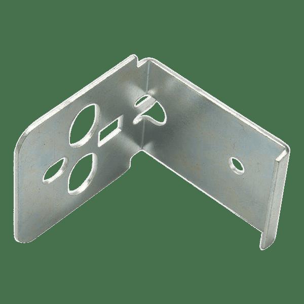Punch press metal stampings.