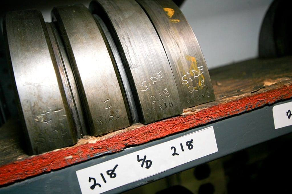 Multi-slide Four-slide stamping presses for metal stampings.